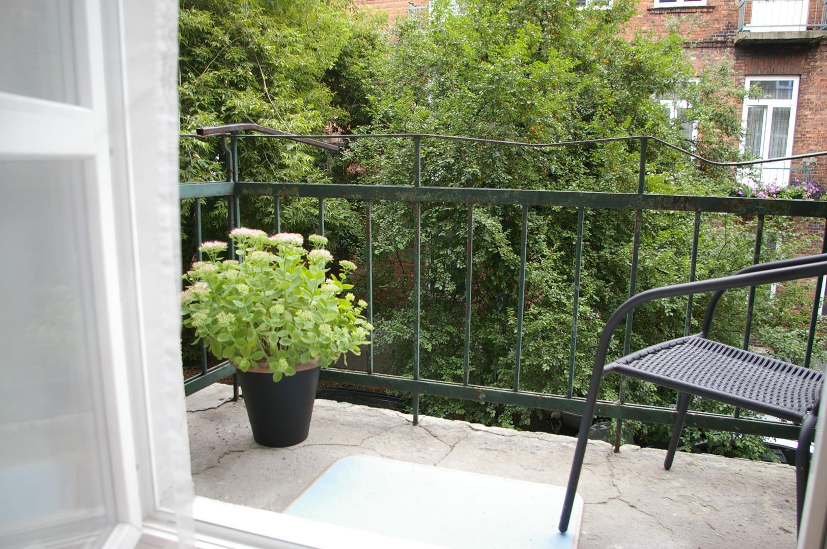 apartament 46A Częstochowa balkon
